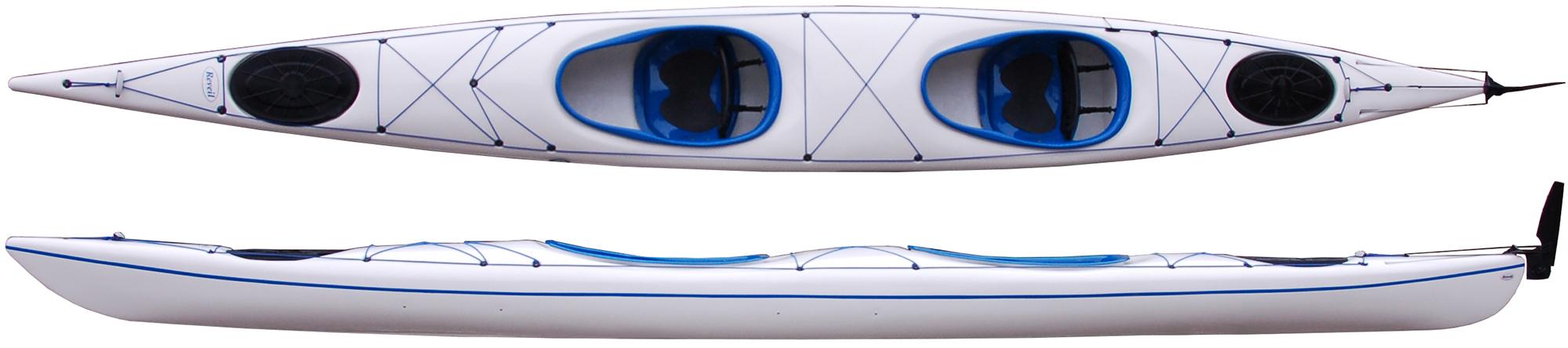 tandem kayak double seat